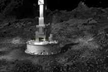 El cabezal de recogida de muestras de la sonda OSIRIS-REx