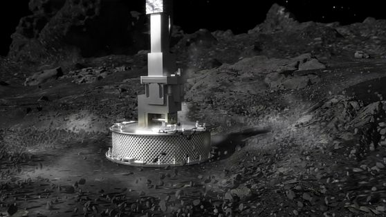 La arriesgada misión OSIRIS-REx toca Bennu y espera la confirmación de la recogida de muestras