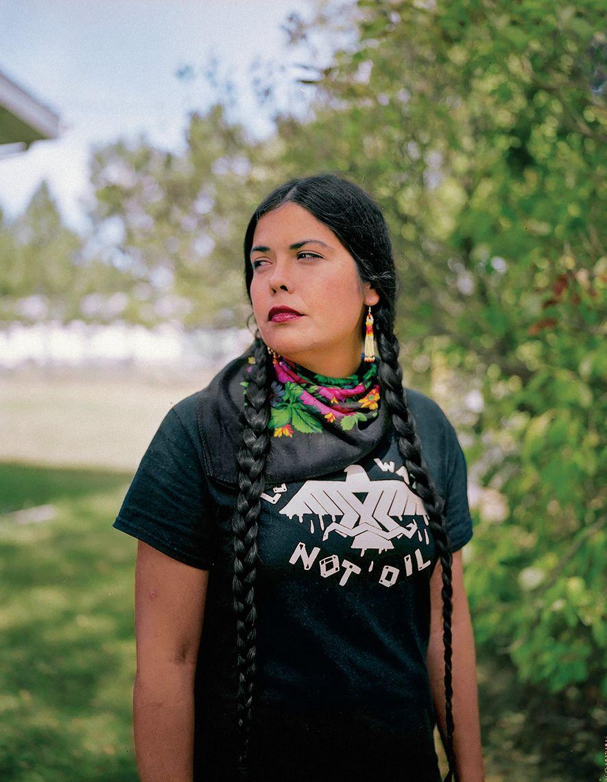 Tara Houska, activista por los derechos indígenas y abogada