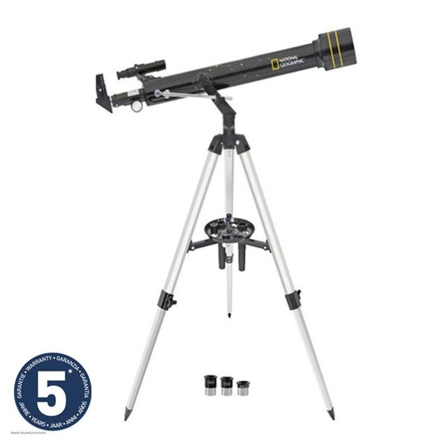 Telescopio astronómico National Geographic 60/700