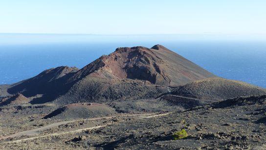 Tenoguia volcán La Palma