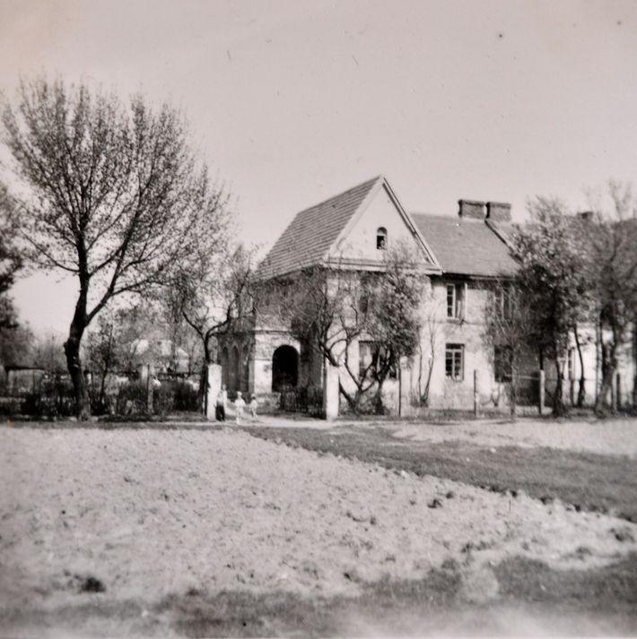 La casa familiar de Teresa en Młociny