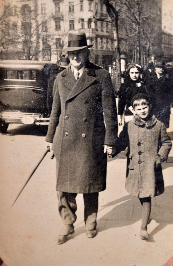 Bohdan Romanowski con su hermano Thomas
