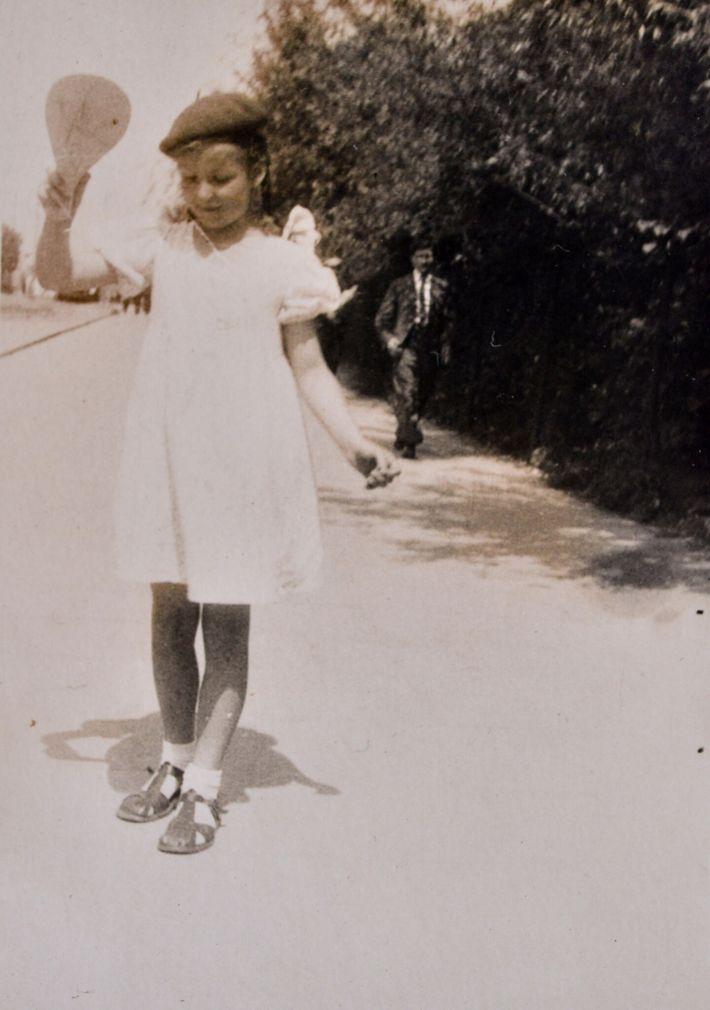Teresa a los8 años