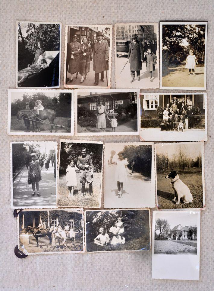 Montaje de fotos de la familia Romanowski