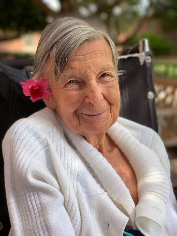 Teresa a los 88 años