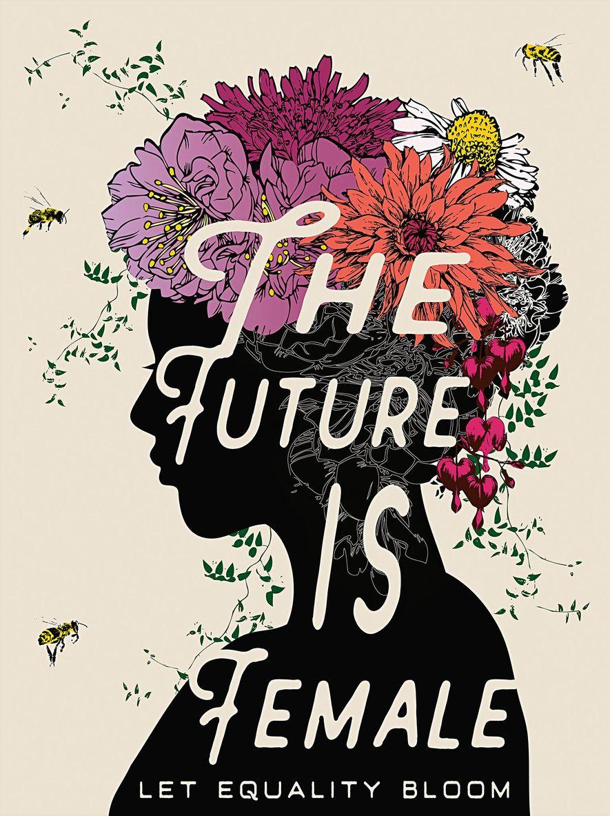 Antes de la Marcha de las Mujeres de 2017 en Washington, Amplifier, un laboratorio de diseño que apoya el activismo comunitario, publicó una convocatoria de arte para pósteres que pudieran distribuir gratis. Este diseño figura entre los muchos que se crearon.