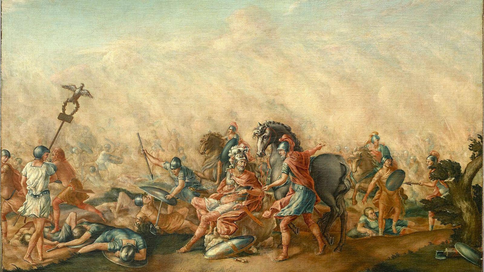 Batalla de Cannas Aníbal tropas íberas