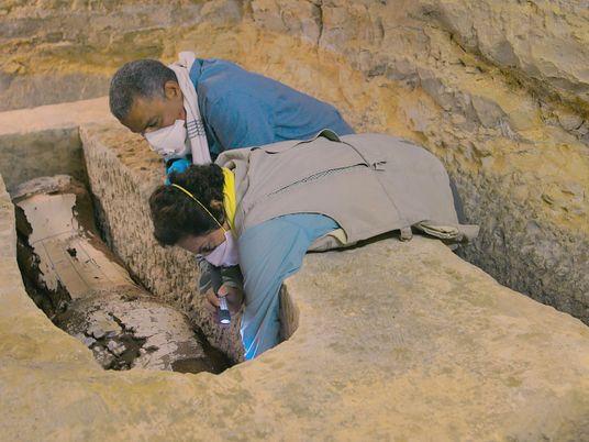 Así era la primera funeraria del Antiguo Egipto descubierta completamente intacta