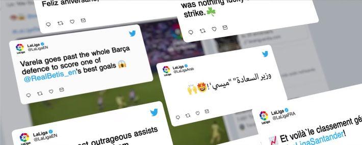 La Liga, un espectáculo mundial