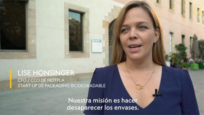 1 minuto con Lise Honsinger