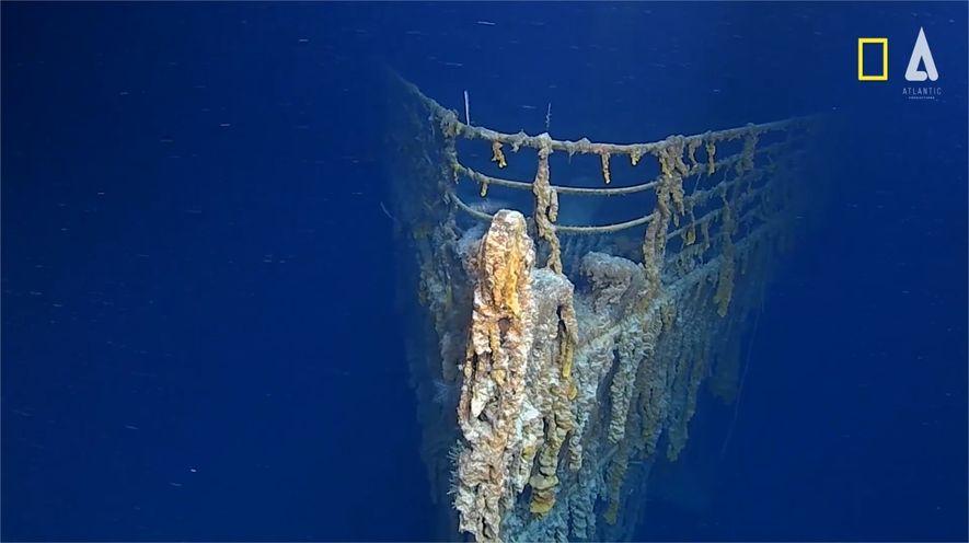 El Titanic 14 años después de sus últimas imágenes