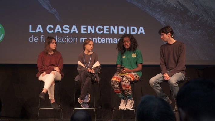 COP25: El mensaje de 'Fridays for Future'