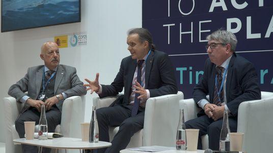 COP25: Enric Sala, explorador de National Geographic, en la conferencia 'Mar Mediterráneo y cambio climático'