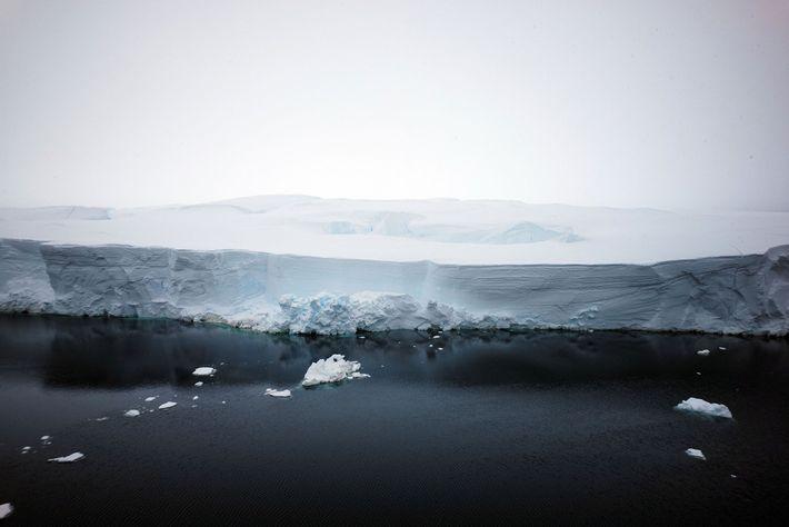 Los acantilados de hielo
