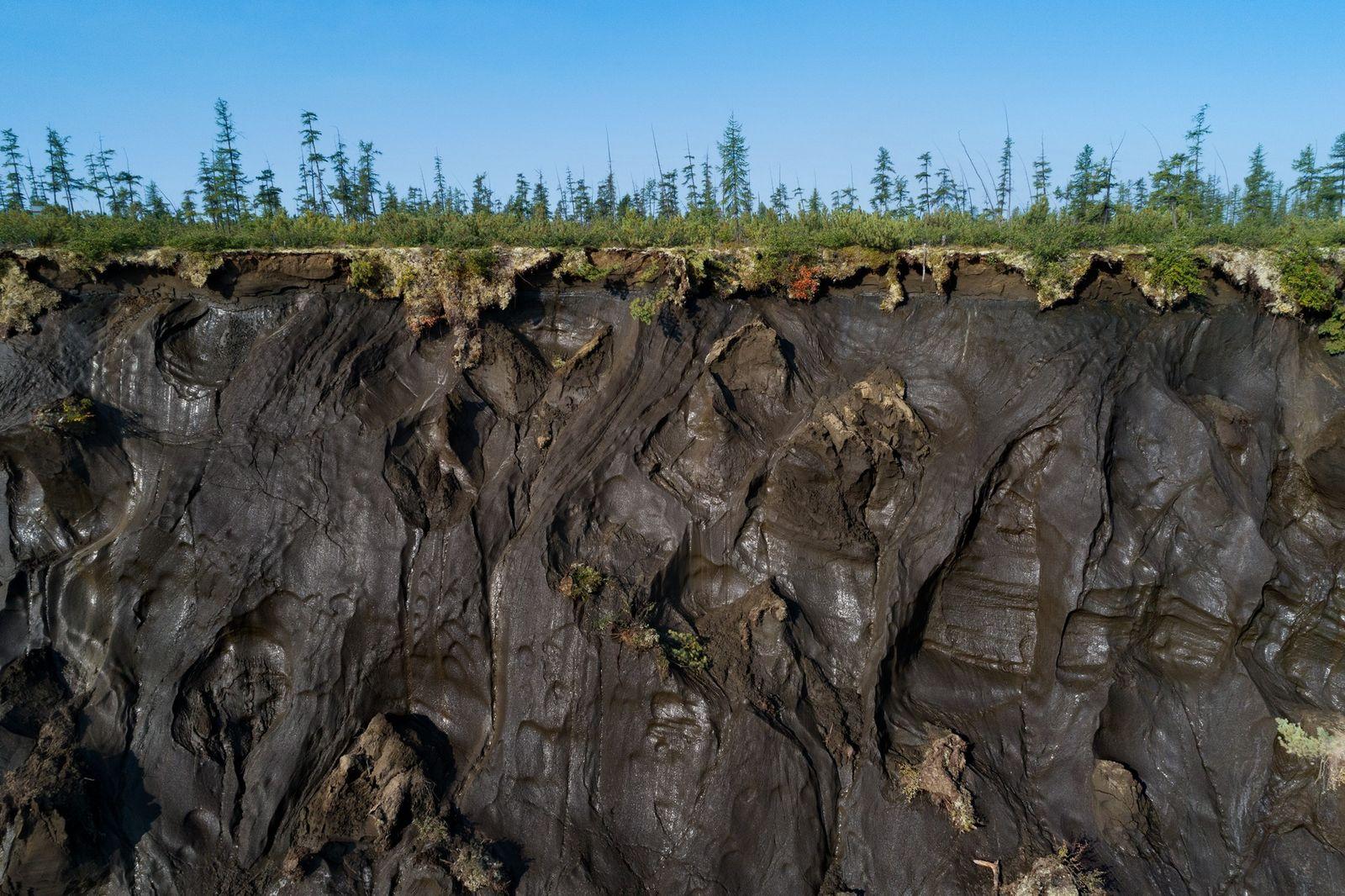 Cráter de Batagaika