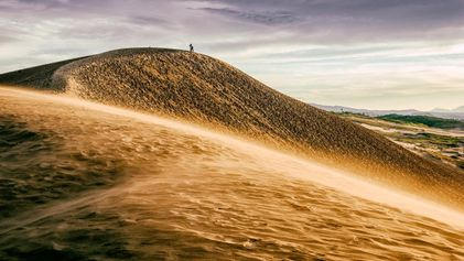 Un Japón insólito: las dunas de arena de Tottori