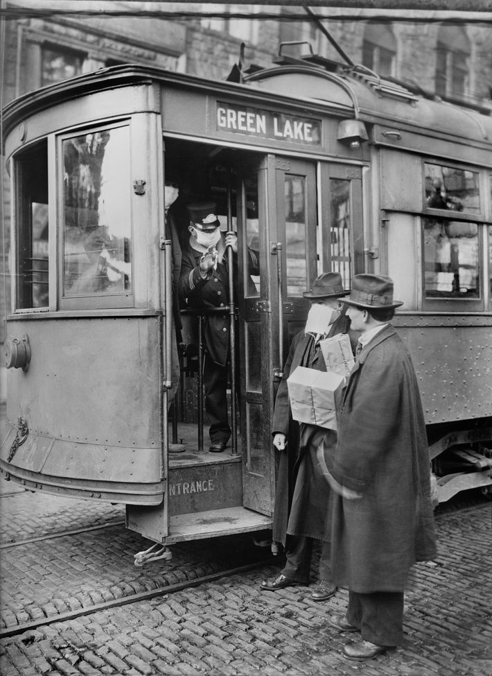 Tranvía de Seattle en 1918
