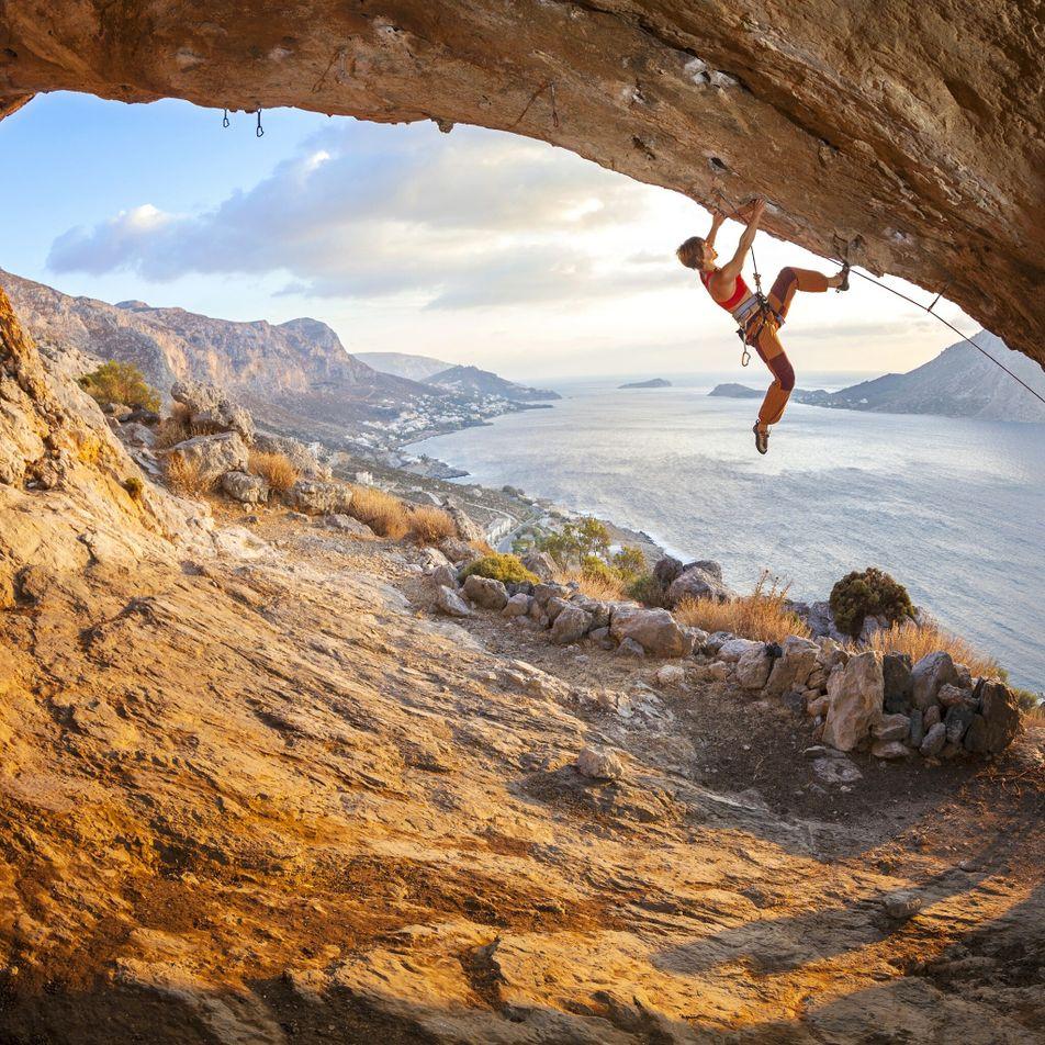 La escalada deportiva está ayudando a revitalizar esta isla griega