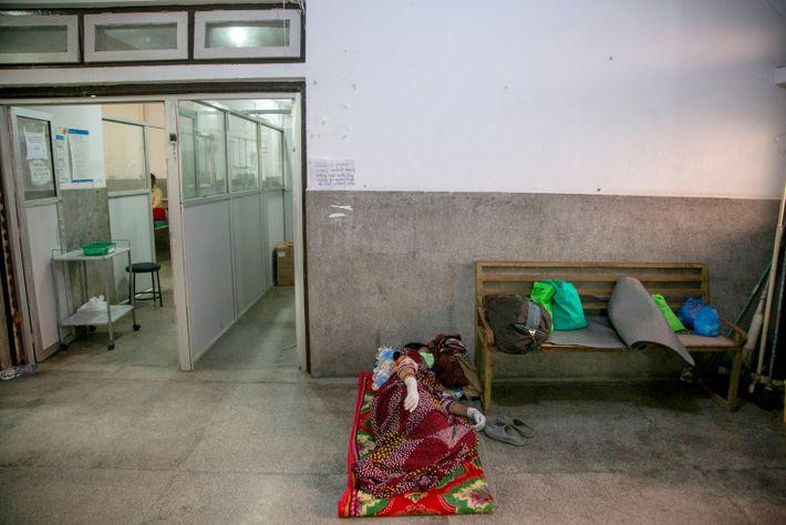 Hospital en Nepal