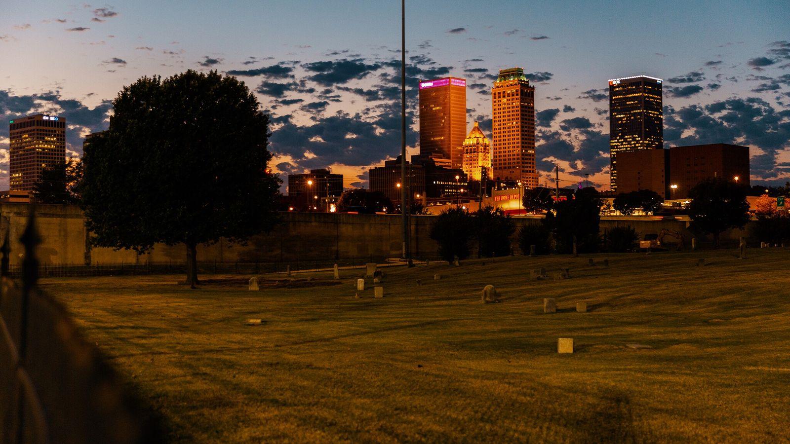 Cementerio de Oaklawn en Tulsa, Oklahoma