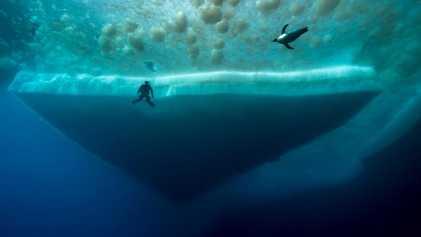 Fotografías de la inmersión más profunda jamás realizada bajo la Antártida.