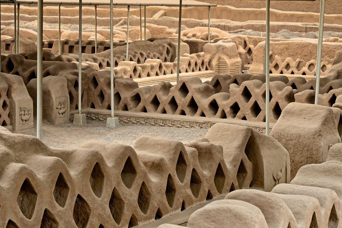 Zona arqueológica de Chan Chan, Perú