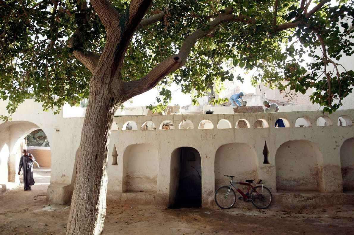 Ciudad Vieja de Gadamés , Libia