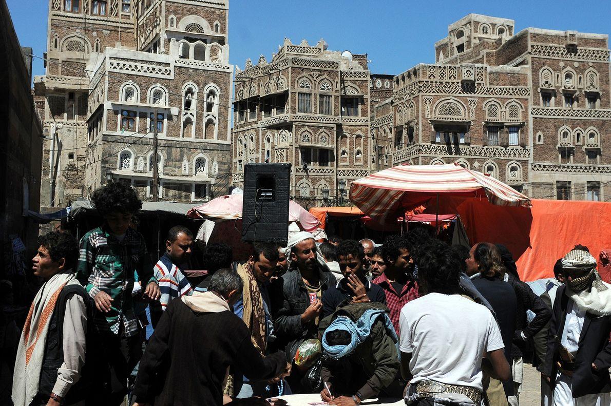 Ciudad vieja de Sana'a, Yemen