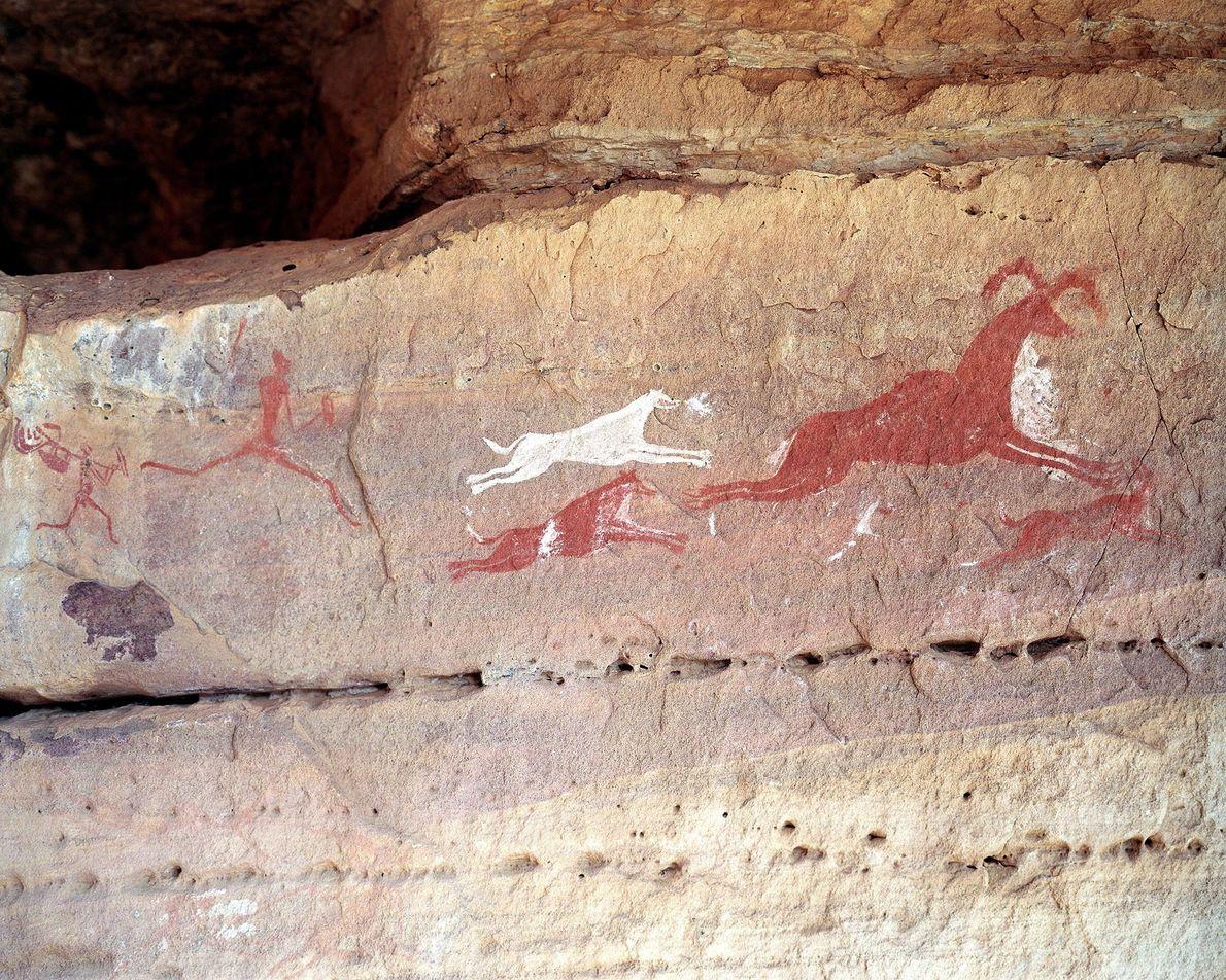 Sitio rupestre de Tadrart Acacus, Libia