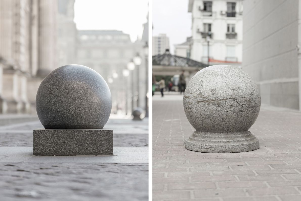 Barreras de piedra
