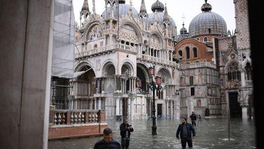 Venecia sufre las peores inundaciones en 50 años