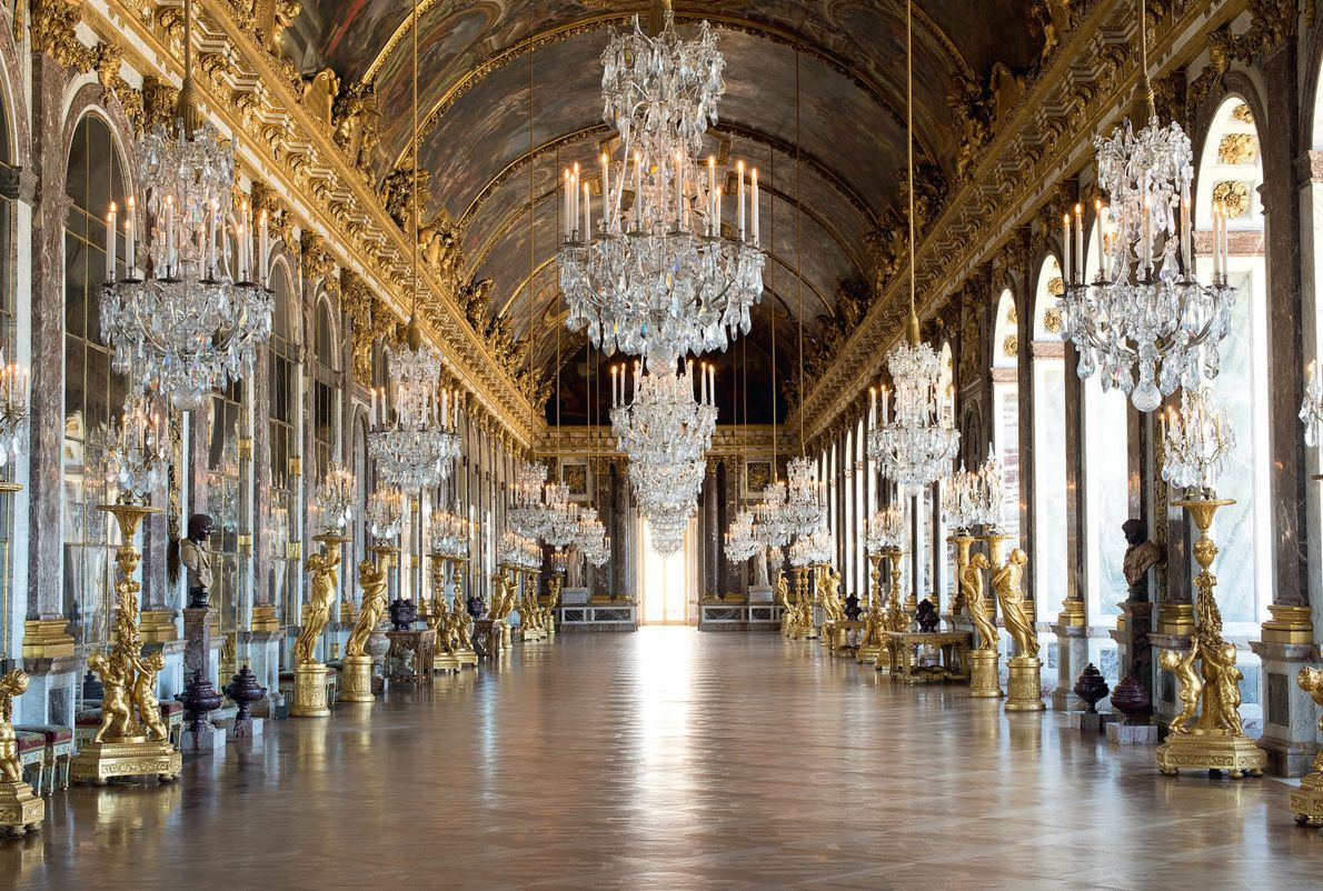 The Hall of Mirrors—previously known as the Grand Gallery—was one of the most infamous rooms in ...
