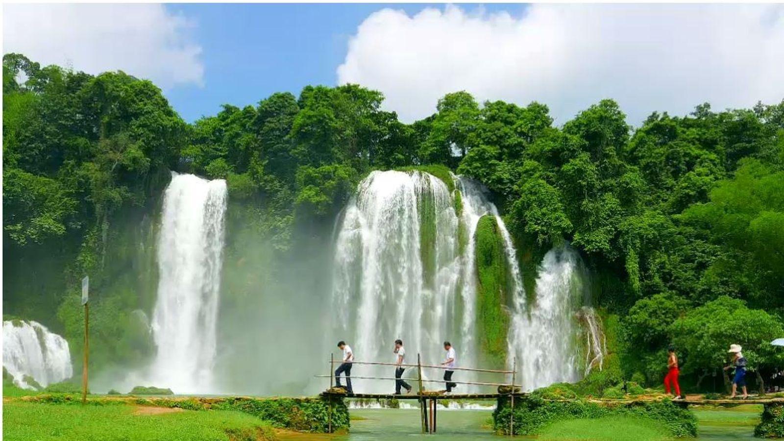 Ban Gioc-Detian Falls, Vietnam
