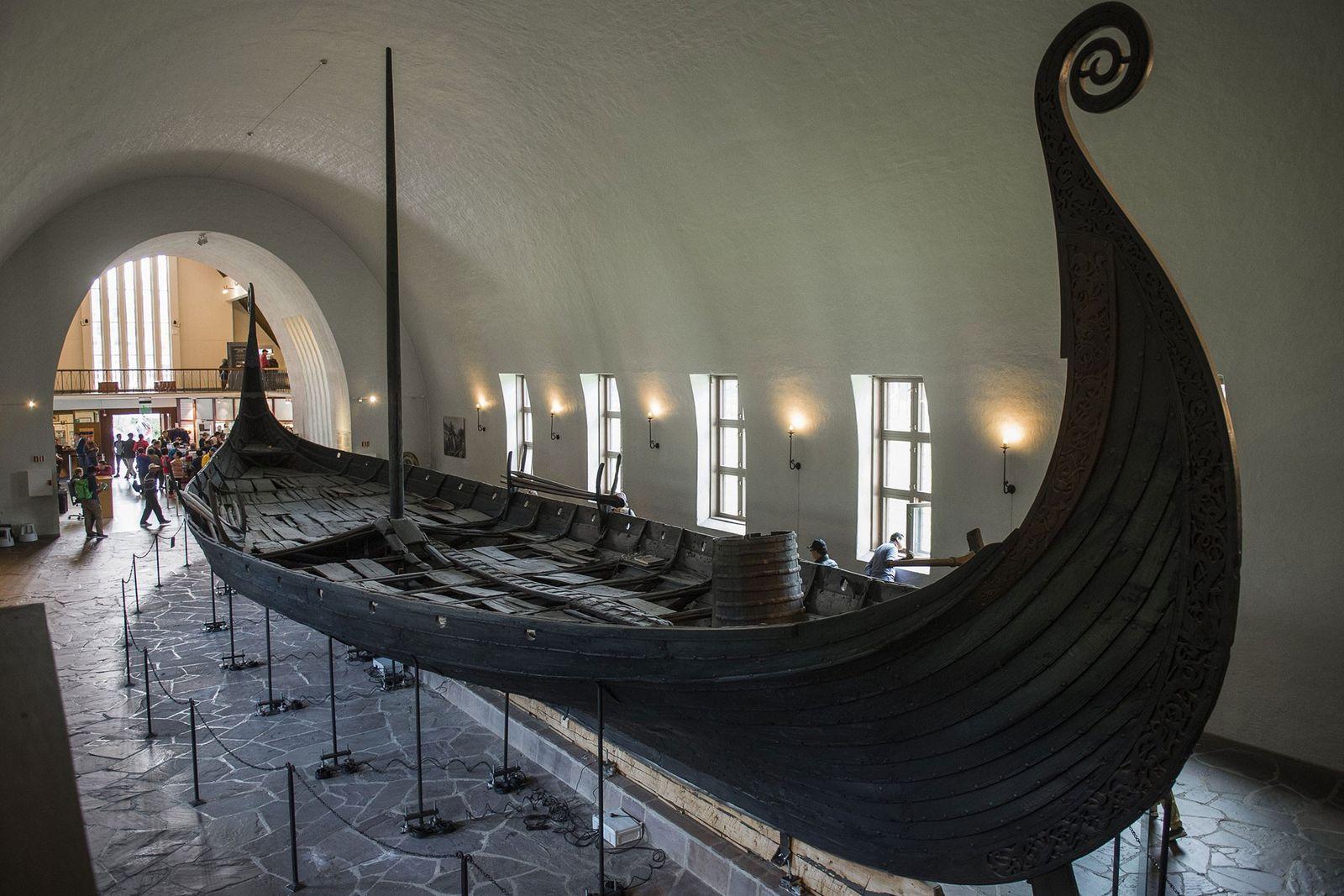 El barco de Oseberg