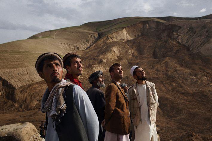 Aldeanos, Afganistán