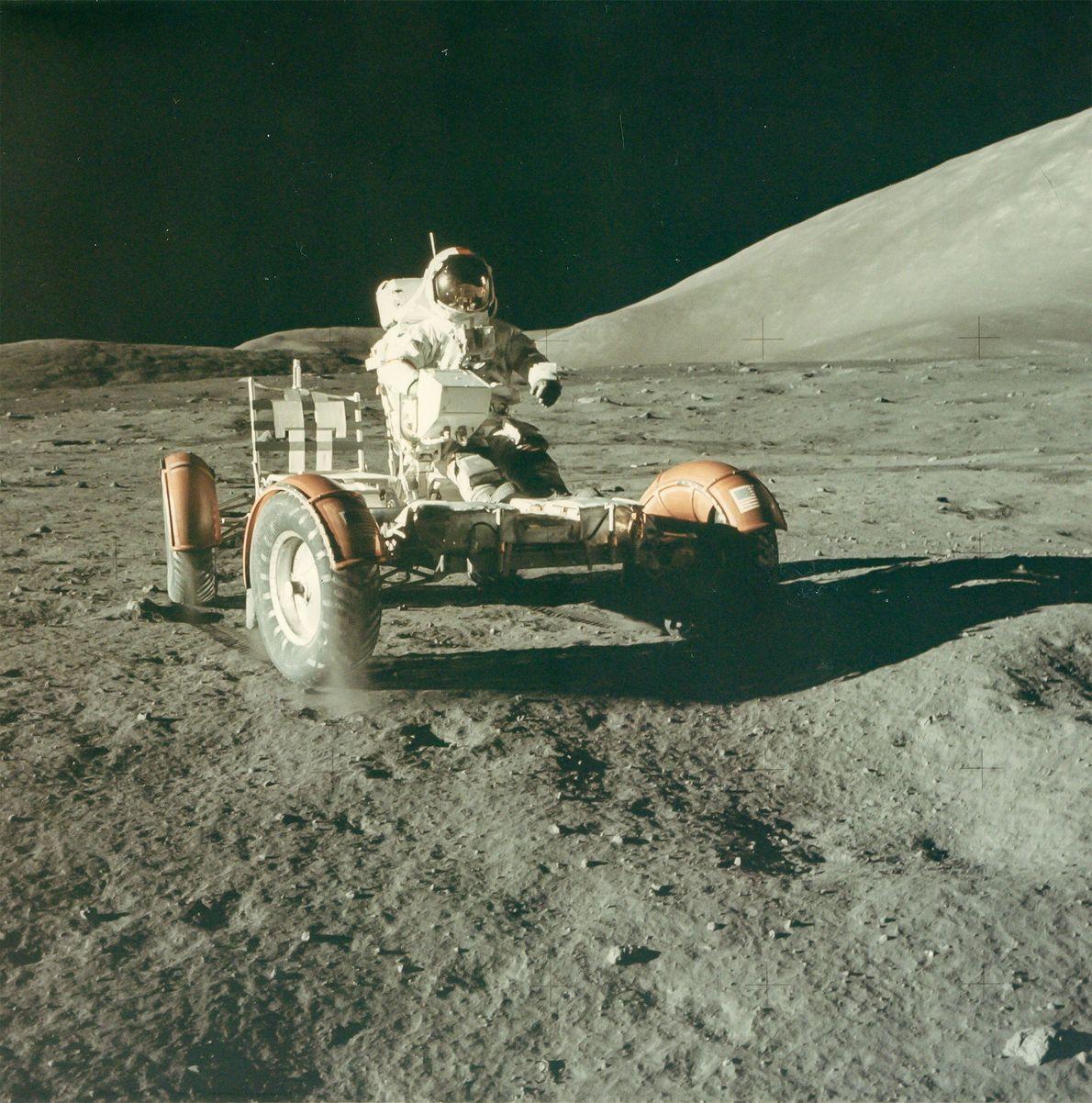 El astronauta Eugene Cernan