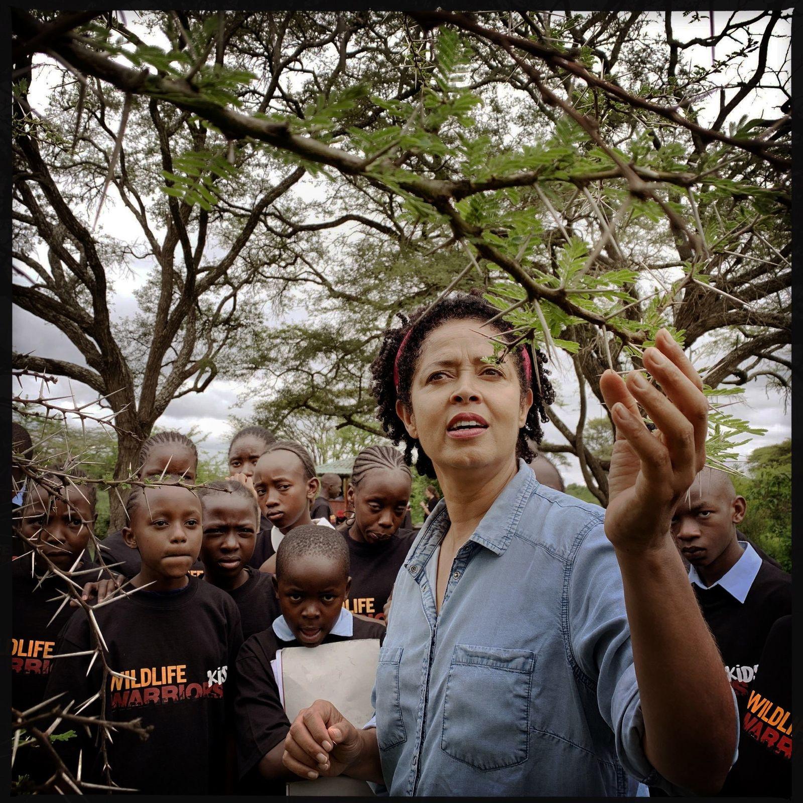 Líder científica, Kenia