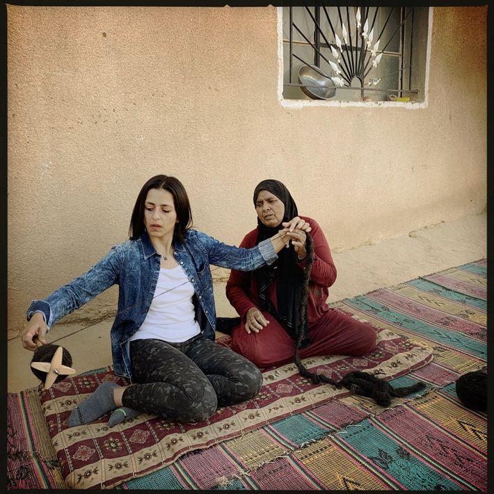 Tejedora de hogares, Jordania