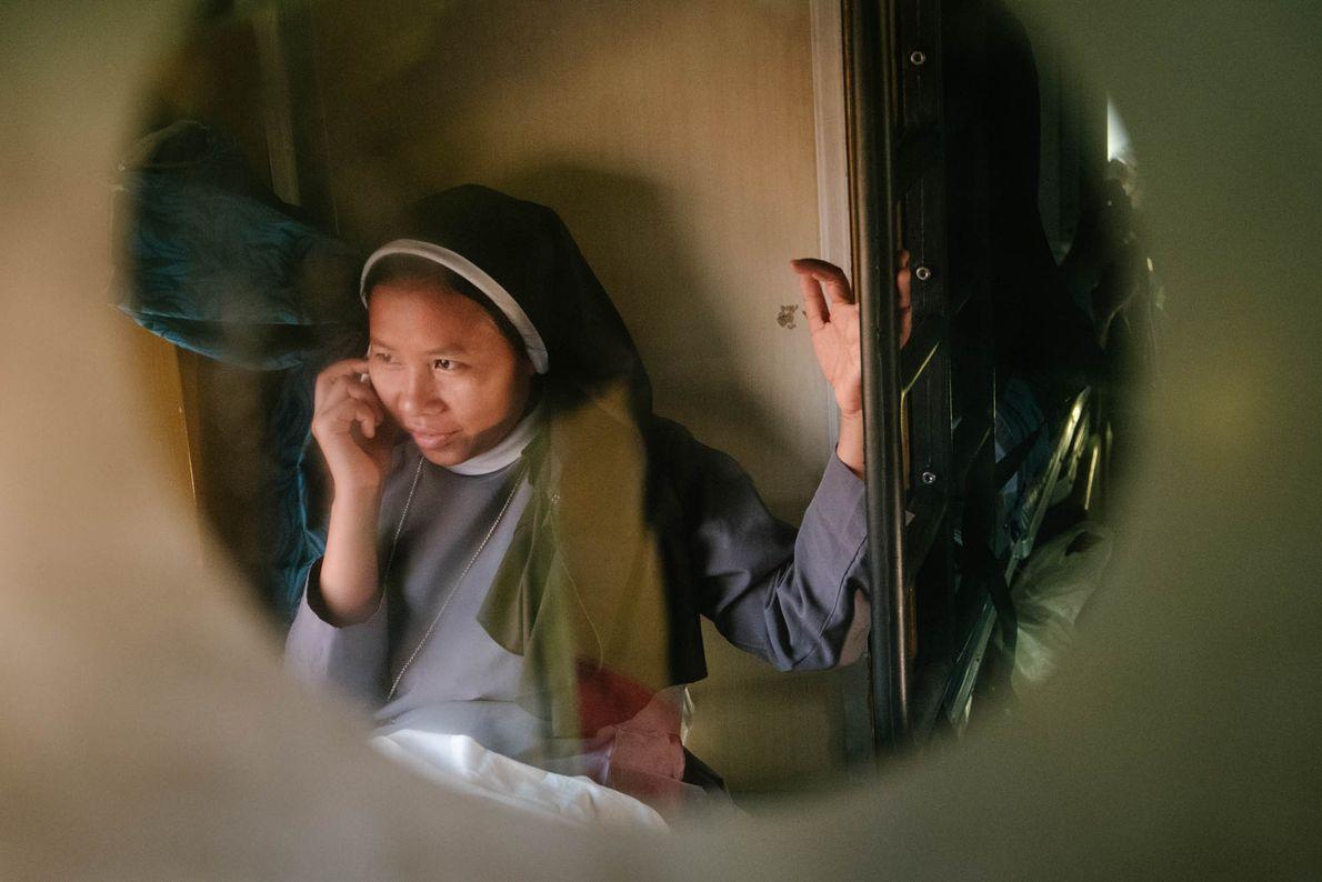 Una monja cristiana