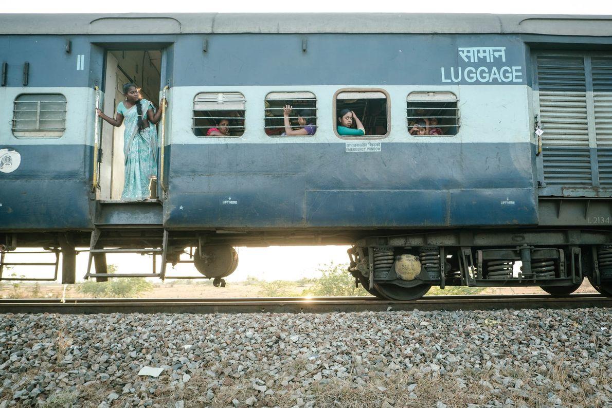 Un tren se avería