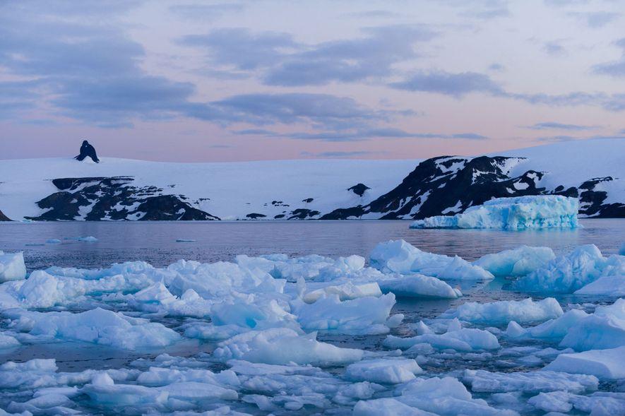 La península antártica ha batido récords de temperatura, pero no se mantendrán mucho tiempo