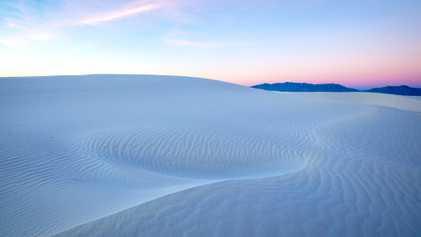 Visita White Sands, el nuevo parque nacional de Estados Unidos