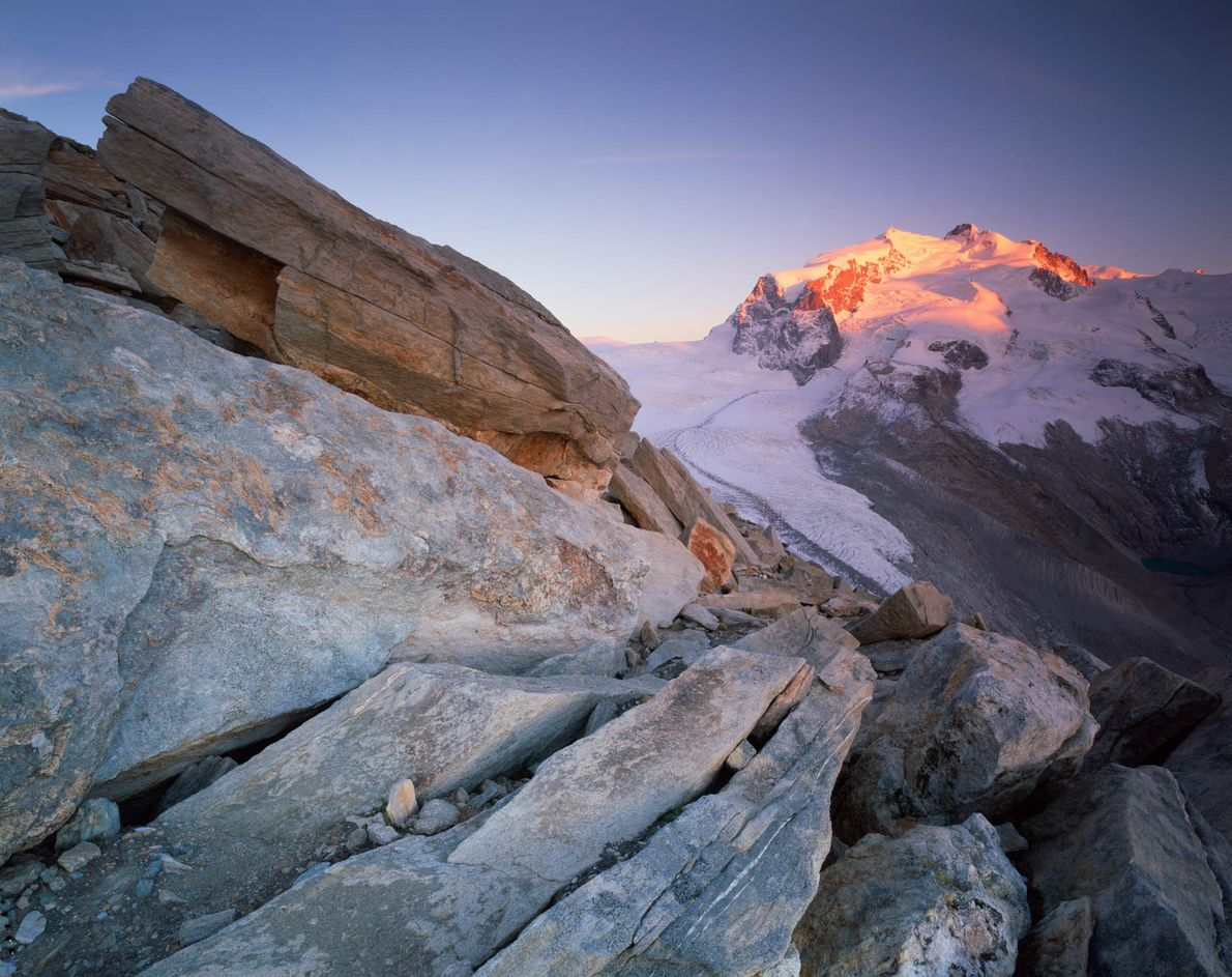 Glaciar Matterhorn, Suiza