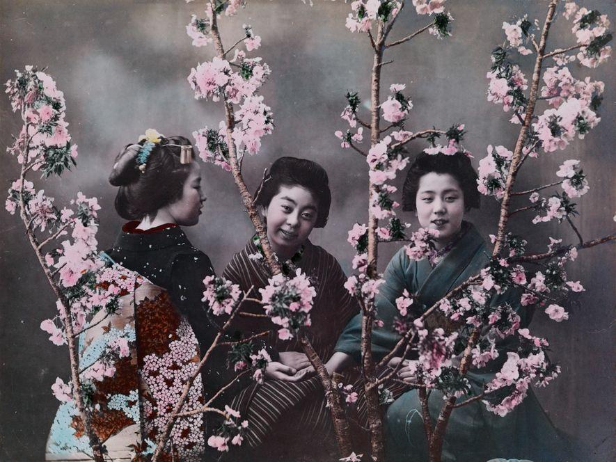 CIRCA 1918, JAPÓNSe cree que Eliza Scidmore fue la primera fotógrafa de National Geographic. Fue quien ...