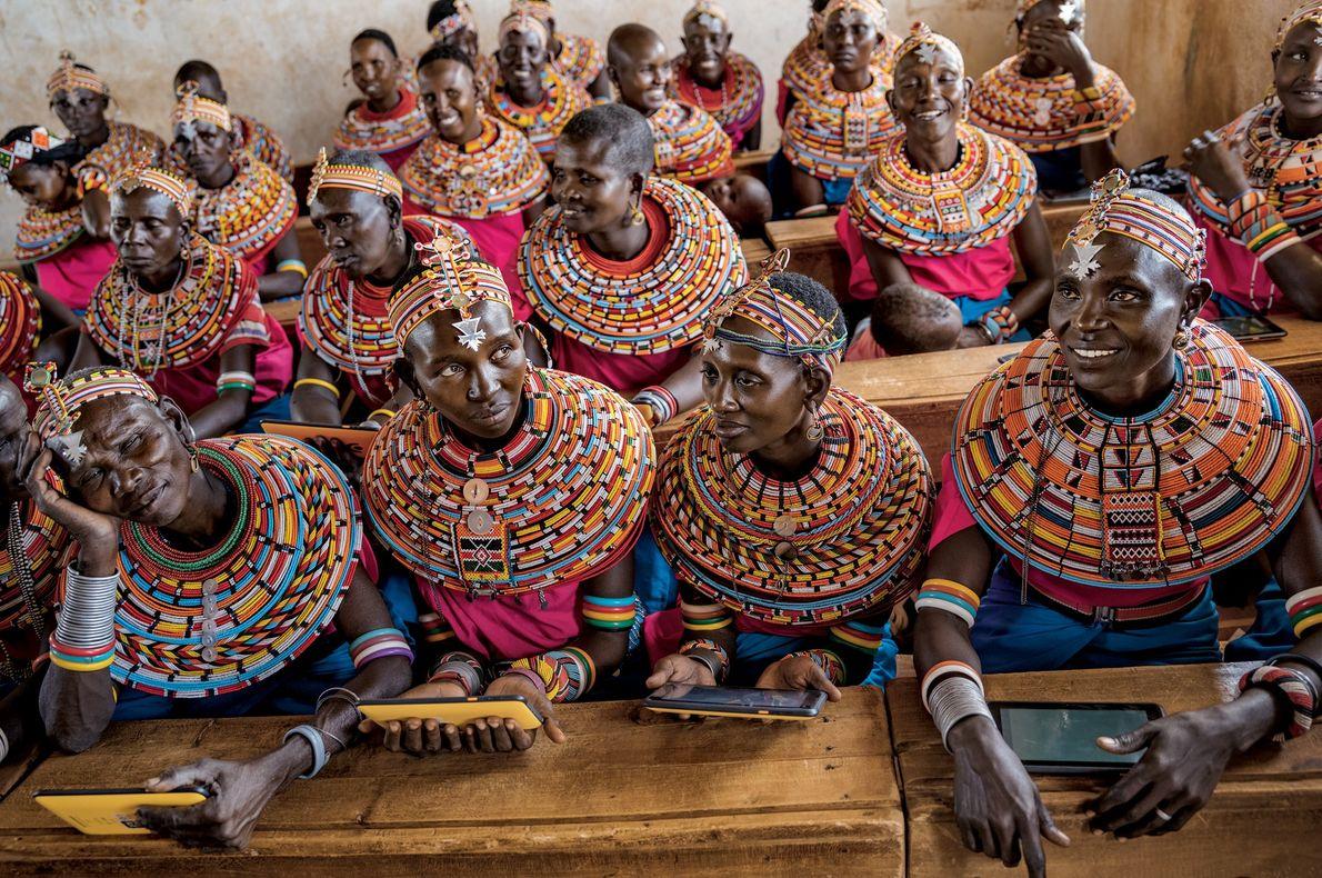 Mujeres samburu