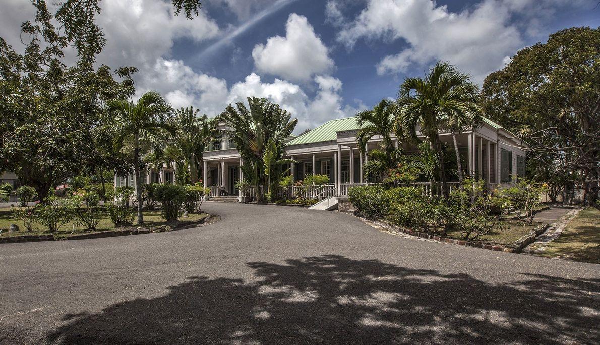 Casa de Gobierno, St. John, Antigua y Barbuda