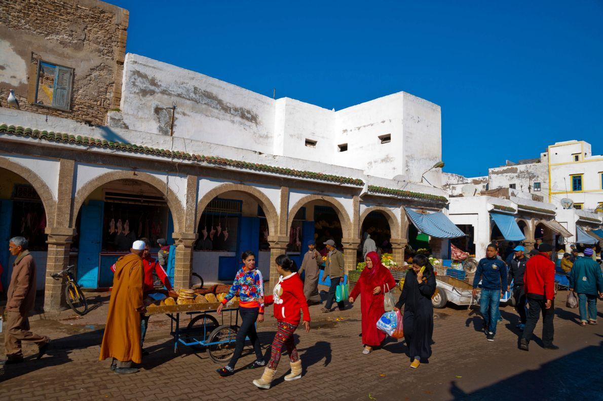 Barrio judío de Essaouira