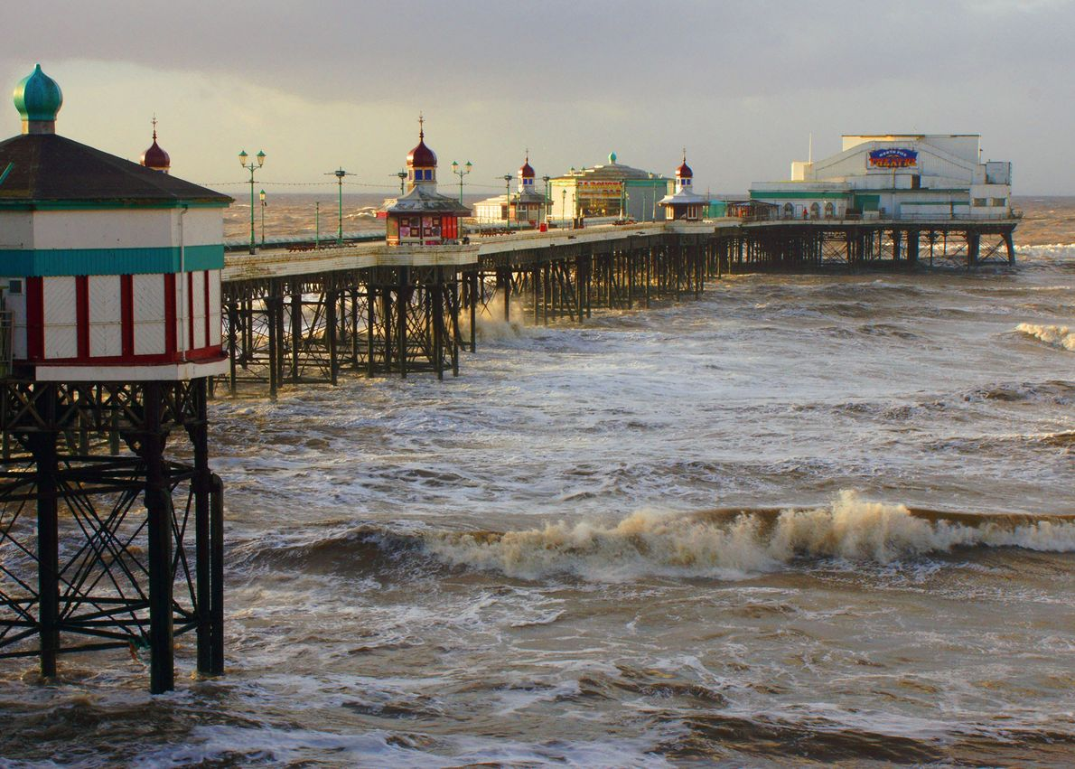Muelles de Blackpool
