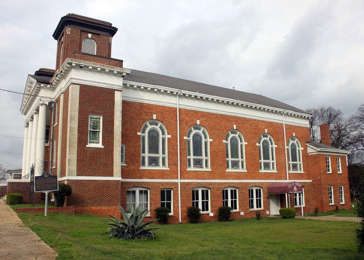 Sitios de derechos civiles de Alabama
